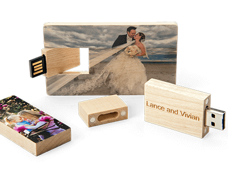 Wood USB Drives