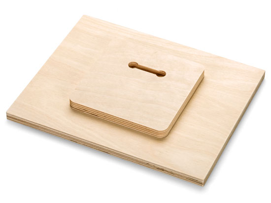 Wood Float Hanger for Sizes 12x12 and Smaller